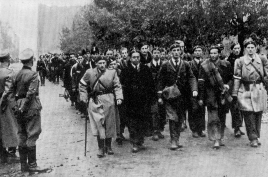 Warsaw Uprising Surrender- 5 of October 1944