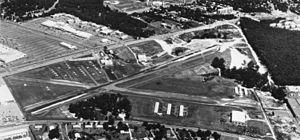 Washington-Virginia Airport - Aerial view of Washington-Virginia Airport circa 1970.