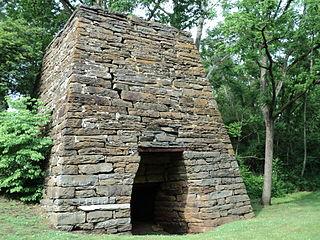 Washington Iron Furnace United States historic place