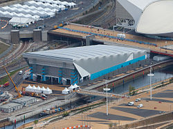 Water Polo Arena, 16 April 2012.jpg