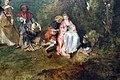 Watteau, pellegrinaggio all'isola di citera, 1717, 07.JPG
