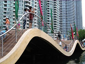 Waterfront Toronto - The Simcoe wavedeck in Toronto's waterfront
