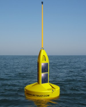 Weather buoy - Weather Buoy / Data Buoy / Oceanographic Buoy operated by the Marine Data Service
