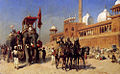 Weeks Edwin Great Mogul And His Court Returning From The Great Mosque At Delhi India.jpg