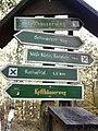 Wegweiser zwischen Kyffhaeuser und Bad Frankenhausen (Rathsfeld 1,5 km).jpg
