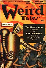 Weird Tales cover image for July-August 1941