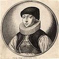 Wenceslas Hollar - Woman with dark cap and pleated ruff (State 2).jpg