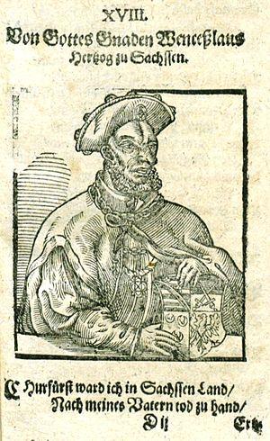 Wenceslaus I, Duke of Saxe-Wittenberg - Image: Wenzel I Sachsen Wittenberg