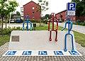 Wesel, Skulptur -Fußgängerparkplatz- -- 2014 -- 00644.jpg