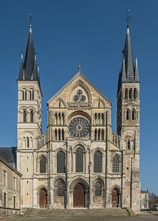 Church in Reims, France