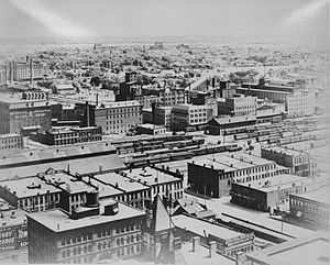 Mill District, Minneapolis - West Side Milling District c. 1905