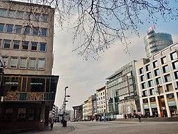 Westliche Karl-Friedrich-Straße in Pforzheim