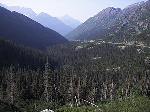White Pass - Image: White Pass, Alaska