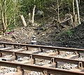 Whitwell Station - laying of new track - geograph.org.uk - 1255596.jpg