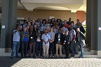 Family photo at the end of the Conference WikiIndaba 2014