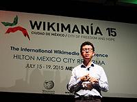 Wikimanía 2015 - Day 4 - Luis von Ahn conference - LMM (36).jpg