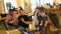 Wikimedia Hackathon 2017 IMG 4701 (34786165135).jpg
