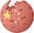 Wikipedia-logo with China Flag.png