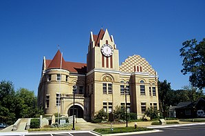Wilkes County Courthouse, gelistet im NRHP Nr. 80001267[1]
