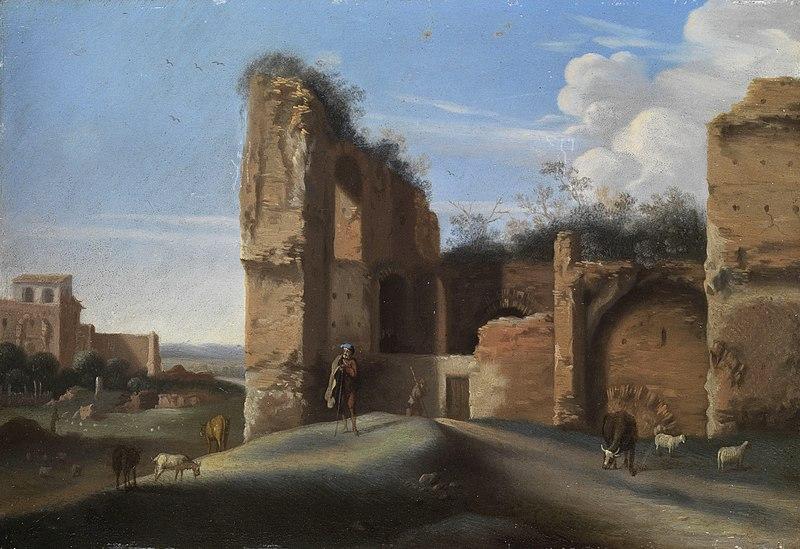 File:Willem van Nieulandt (attr) Römische Ruinenlandschaft.jpg