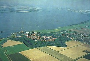 Hollands Diep - Willemstad and the Hollands Diep.