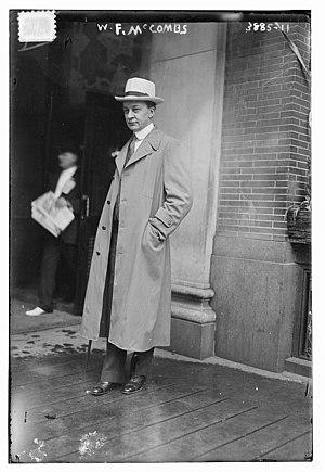 William F. McCombs - Image: William Frank Mc Combs in 1917