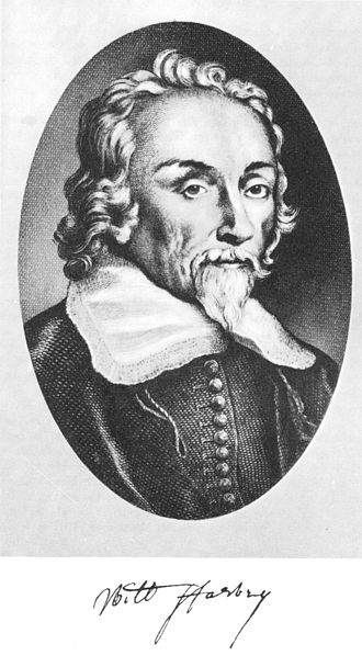 William Harvey - Image: William Harvey ( 1578 1657)