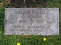 William Wallace Denslow Footstone 2010.JPG