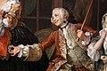 William hogarth, marriage a-la-mode, 1743 ca., 03 l'ispezione 5.jpg
