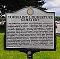 Williamson County Historical Marker - Toussaint L'Overture County Cemetery.JPG