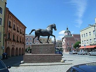 Pfarrkirchen - Part of town square