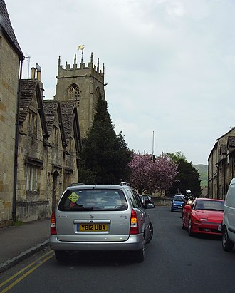 Winchcombe - Part of the main street