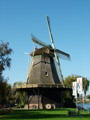 Windmill, Weesp, Netherlands