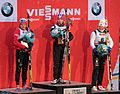 Winners Women FIS Cross-Country World Cup Quebec 2012.jpg