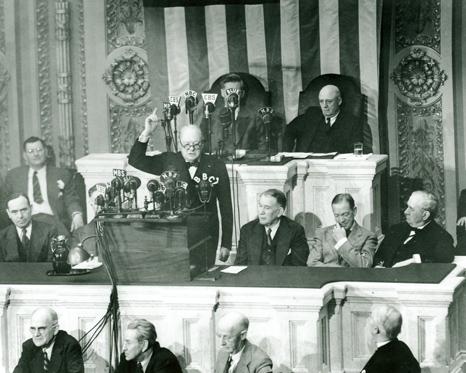 Winston Churchill Address the US Congress