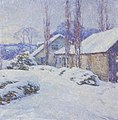Winter Afternoon, Willard Metcalf, 1917.jpg