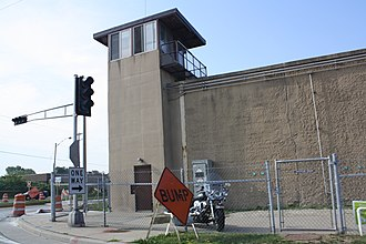 Green Bay Correctional Institution - Image: Wisconsin State Reformatory Allouez Watchtower 2009