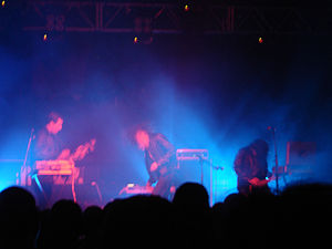 Wolf Eyes in Glasgow in 2006