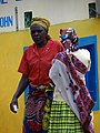 Women at Bus Station - Musanze (Ruhengeri) - Northern Rwanda (7689317680).jpg