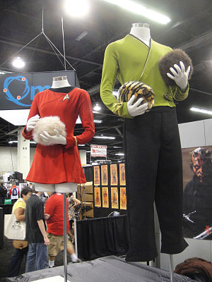 In a Mirror, Darkly - This episode saw the return of Original Series style uniforms, with the wraparound green tunic worn by Scott Bakula as Jonathan Archer.
