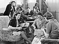 Workers Welfare at a Royal Ordnance Factory- Life at Rof Bridgend, January 1942 D6242.jpg