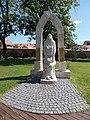 World War II memorial by László Hunyadi (2001). - Keszthely Castle Garden, 2016 Hungary.jpg