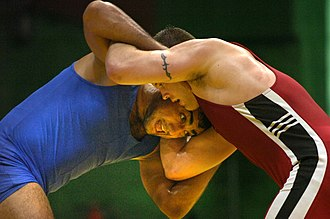 Wrestling in India - Image: Wrestling in india