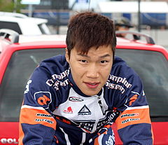 Wu Kin San under Tour des Fjords 2013.JPG
