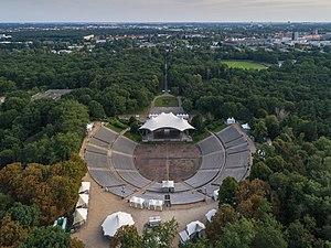 Kindl-Bühne Wuhlheide - Aerial view, 2017