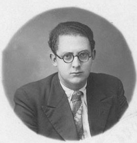 Xosé María Álvarez Blázquez 1935 Arquivo Histórico Universitario de Santiago de Compostela