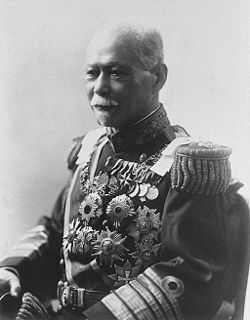 Yamamoto Gonnohyōe Prime Minister of Japan
