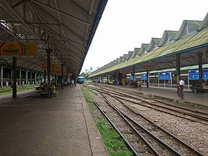 Yangon Central railway station - Yangon central railway station terminal