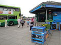 Yarmouth bus station during Old Gaffers Festival.JPG