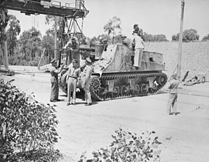Yeramba - A group of officials inspecting the prototype Yeramba in 1949